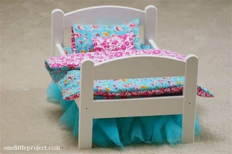 how to make a doll bed how to make a reversible blanket for an ikea doll bed