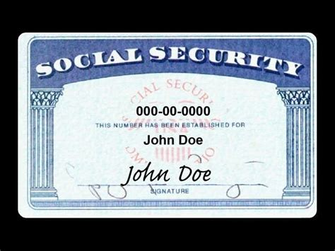 social security number template on sale your social security number only 5 95 wkow