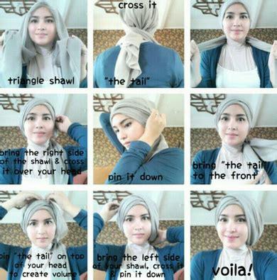 tutorial hijab simple tanpa pentul tutorial hijab simple tanpa jarum pentul yang mudah