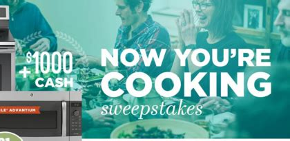Appliance Sweepstakes 2014 - ge appliances now you re cooking sweepstakes sun sweeps