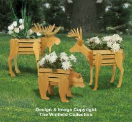 Planter woodworking plans small cedar animal planter plans