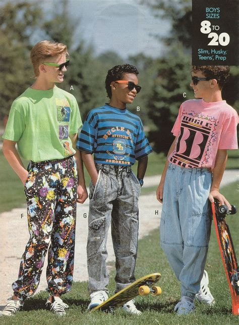 Bugle Boy ? No one was safe from 80s fashion!      I'm