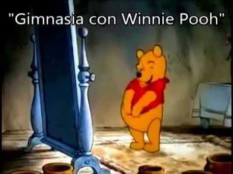 imagenes de winnie pooh groseras gimnasia con winnie pooh youtube