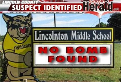 lincoln middle school lincolnton nc suspect identified in middle school bomb threat lincoln