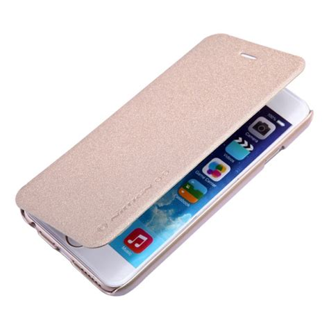 Flipcover For Iphone5 Iphone6 Iphone6 apple iphone 6 flip nillkin sparkle gold