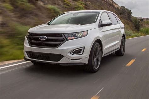 ford edge 2016 2016 ford edge sport awd test now with adaptive