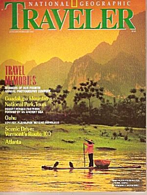 National Geographic By Joe Store by National Geographic Traveler January February 1993