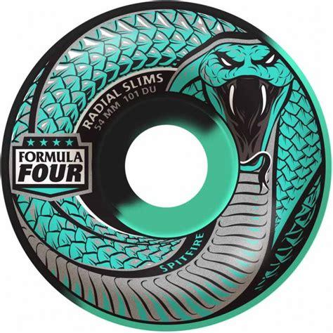Spitfire Formula 4 Snake Bites 52mm 101a Skateboard Wheels