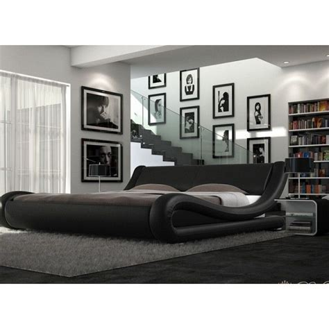 designing a bed enzo italian modern designer or king size leather