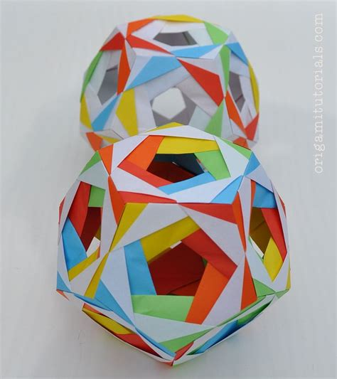 tutorial origami modular 56 best images about modular origami on pinterest