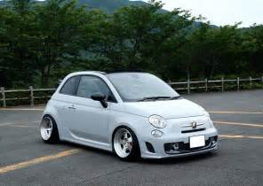 Fiat 500 Abarth Cabrio Cool Stanced Fiat 500 Abarth Cabrio Cars One