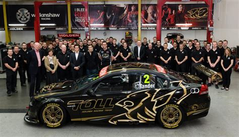 holden racing team 2013 holden racing team v8 supercar cotf unveiled