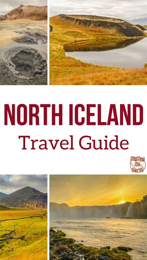 iceland the official travel guide books iceland and lake myvatn guide map places to see