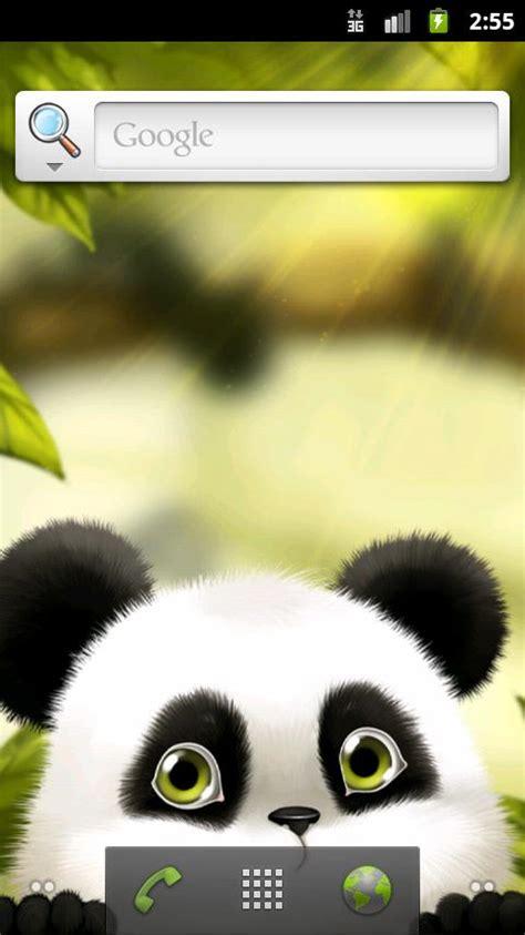 wallpaper android panda живые обои с милой пандой android россия новости