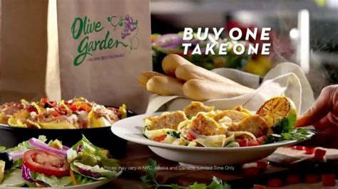 Olive Garden Two For One by Olive Garden Buy One Take One Tv Commercial Ispot Tv