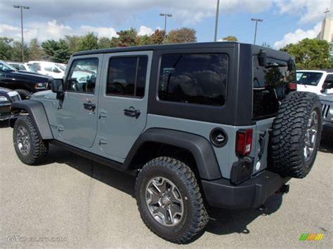 Jeep Wrangler Rubicon Colors 2014 Anvil Jeep Wrangler Unlimited Rubicon 4x4 86314229
