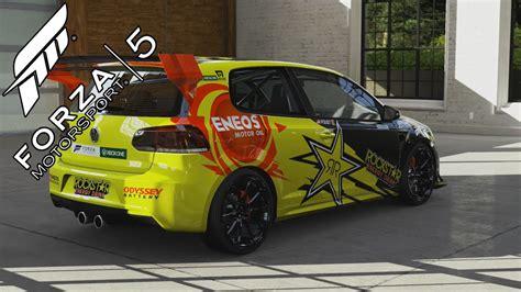 Forza 6 Vw Autos by Forza 5 Volkswagen Golf R Mk6 Rockstar Energy Drink