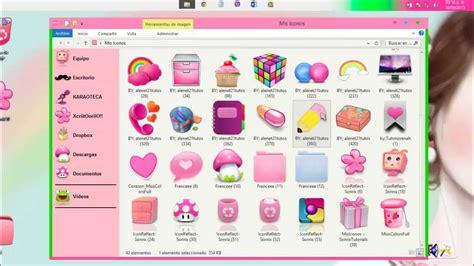 carpeta imagenes fondo windows 10 cambiar iconos de las carpetas sin programas youtube