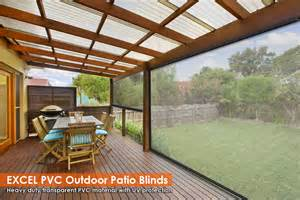 blinds outdoor patio new 90cm x 240cm heavy duty pvc clear patio blind outdoor