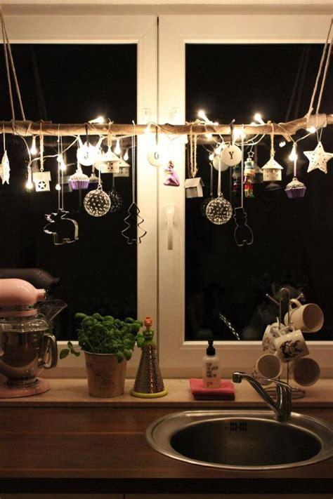 fensterdeko zu weihnachten basteln charmante diy ideen