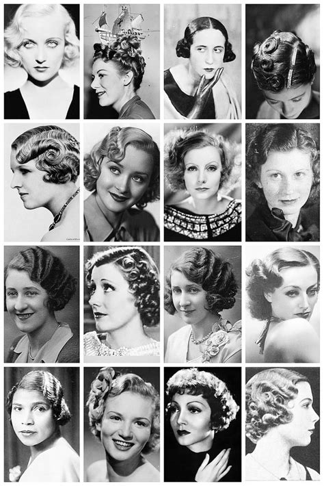 perms in the 1930s 24 best 1930s hairstyles images on pinterest