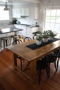 Kitchen And Dining Room Tables by Rustic Dining Table Pairs With Bentwood Chairs Bentwood