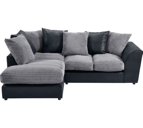 leather sofa bed argos argos corner sofa bed collection fernando leather eff left