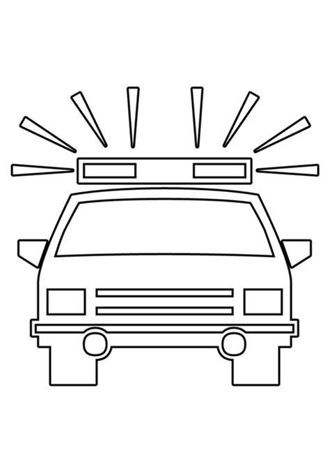 Polizeiauto Zum Malen by Malvorlage Polizeiauto Ausmalbild 22530