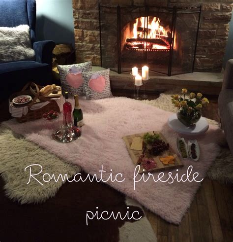 food in the bedroom ideas romantic fireside picnic a purdy little house