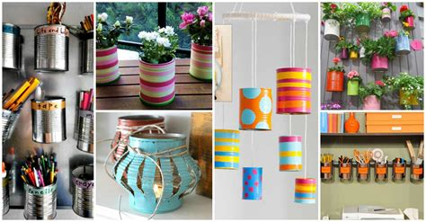 tin decorations diy how to transform your tin cans into adorable decor ideas