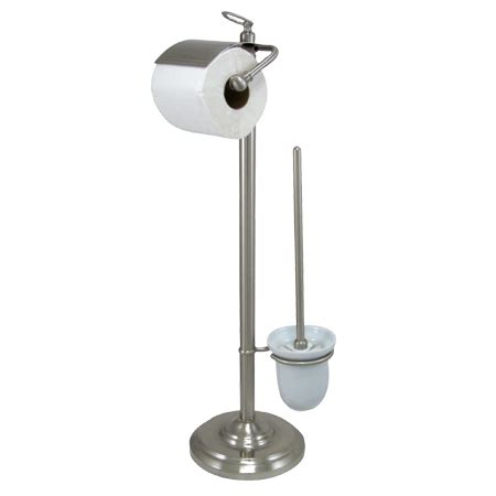 free standing toilet paper holder free standing toilet paper holder satin nickel ebay