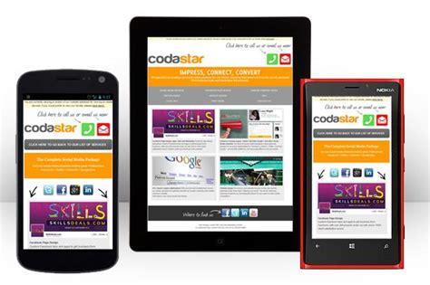 cross platform web design