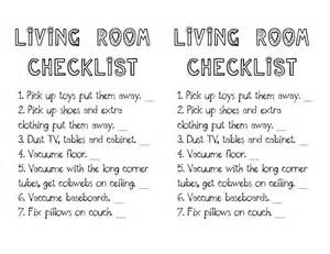 living room checklist little gene green bean weekly saturday cleaning schedule
