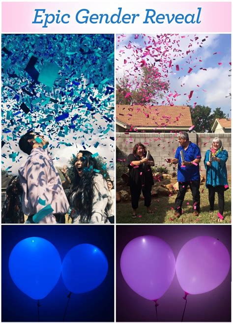 glow in the paint gender reveal easy planning 101 superior celebrations