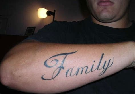 family tattoo on forearm 35 encouraging family tattoos creativefan