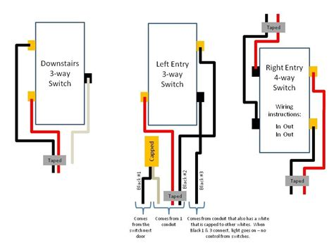 decora 3 way switch wiring diagram 3 way toggle switch