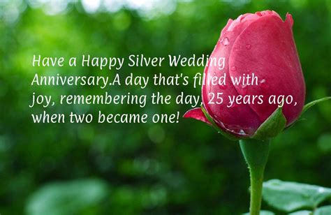 Wedding Anniversary Wishes 25 Years by Happy 25th Wedding Anniversary Wishes