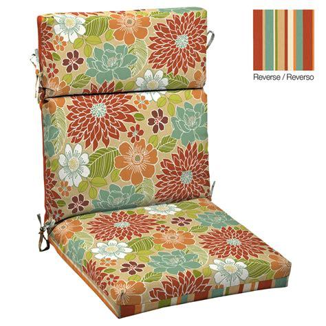 floral patio cushions shop garden treasures floral multi standard patio