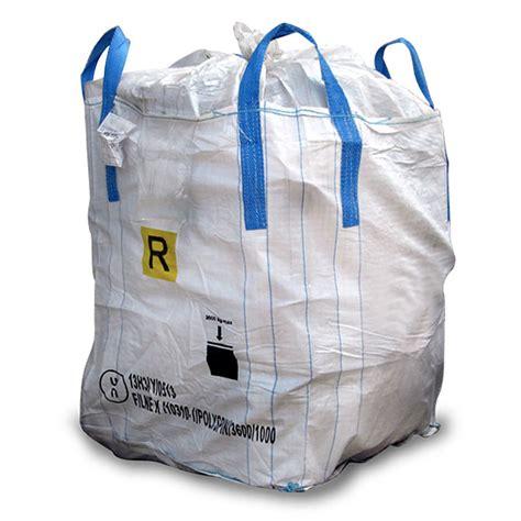 the huge bag of sacchi big bag mediapac srl