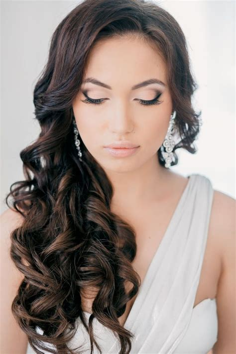 brunette curly hairstyles 18 perfect curly wedding hairstyles for 2015 pretty designs