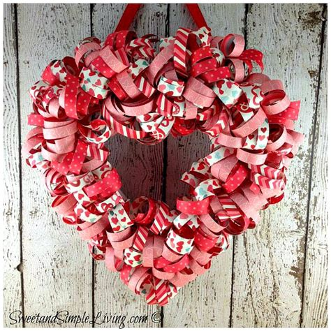 valentines day wreaths s day wreath with free tutorial