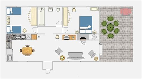 floor plans for patio homes croan cottages self catering holiday homes in ireland