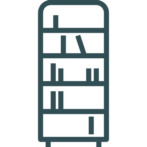 Book Shelf Icon by Bookshelf Free Other Icons