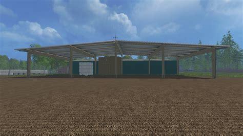 gartenhäuser selber bauen 2107 straw and hay storage building mod v 1 0 fs15 mod