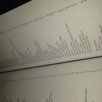 bathtub gin menu bathtub gin co seattle wa united states whiskey menu