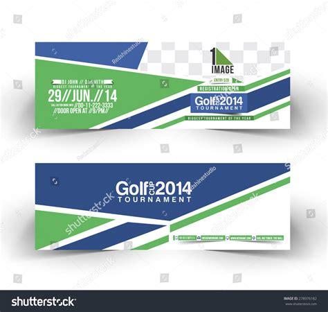 design banner golf golf cup header banner design stock vector 278976182