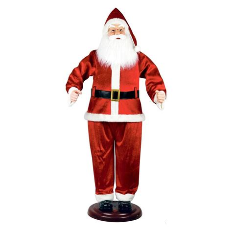 home accents 72 in animated santa 5230