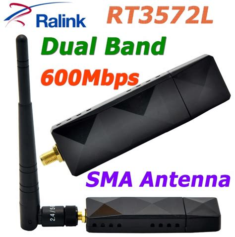 ralink rt dual band mbps wireless wifi usb adapter