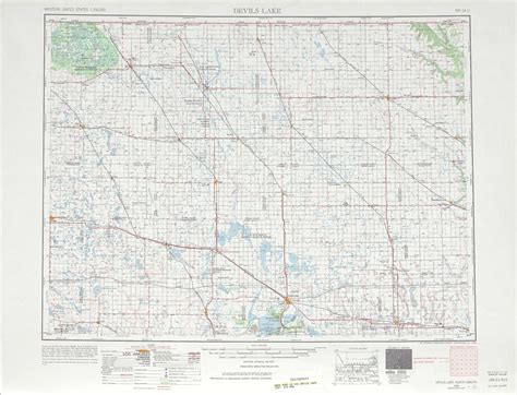 nd road map devils lake topographic maps nd usgs topo 48098a1 at 1 250 000 scale
