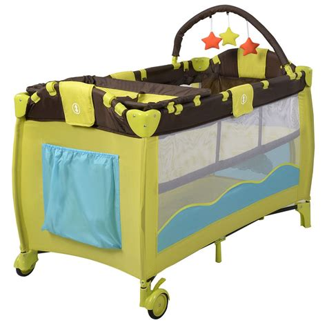 Crib Playpen by Us Home Portable Baby Crib Playpen Playard Pack Travel